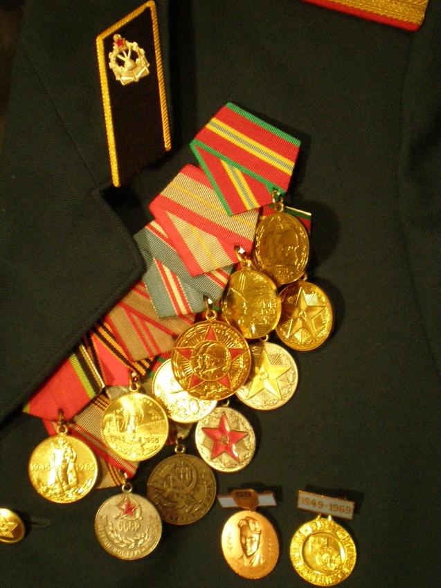 Юбилейные и наградные медали: